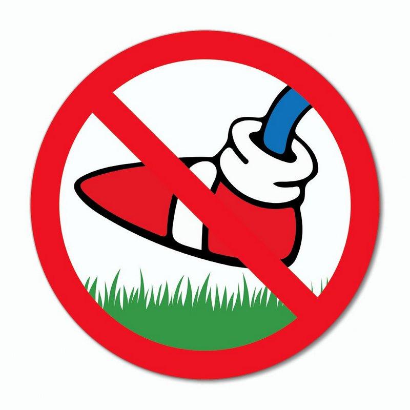 Placa Decorativa 20x20 - Sonic - Não pise na grama