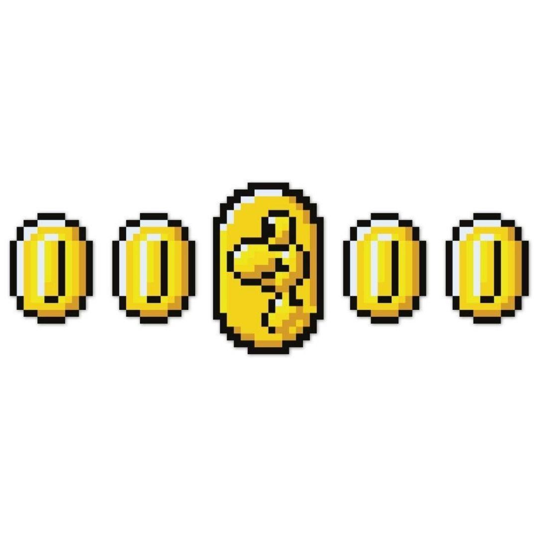 Placa Decorativa - Kit moedas 01