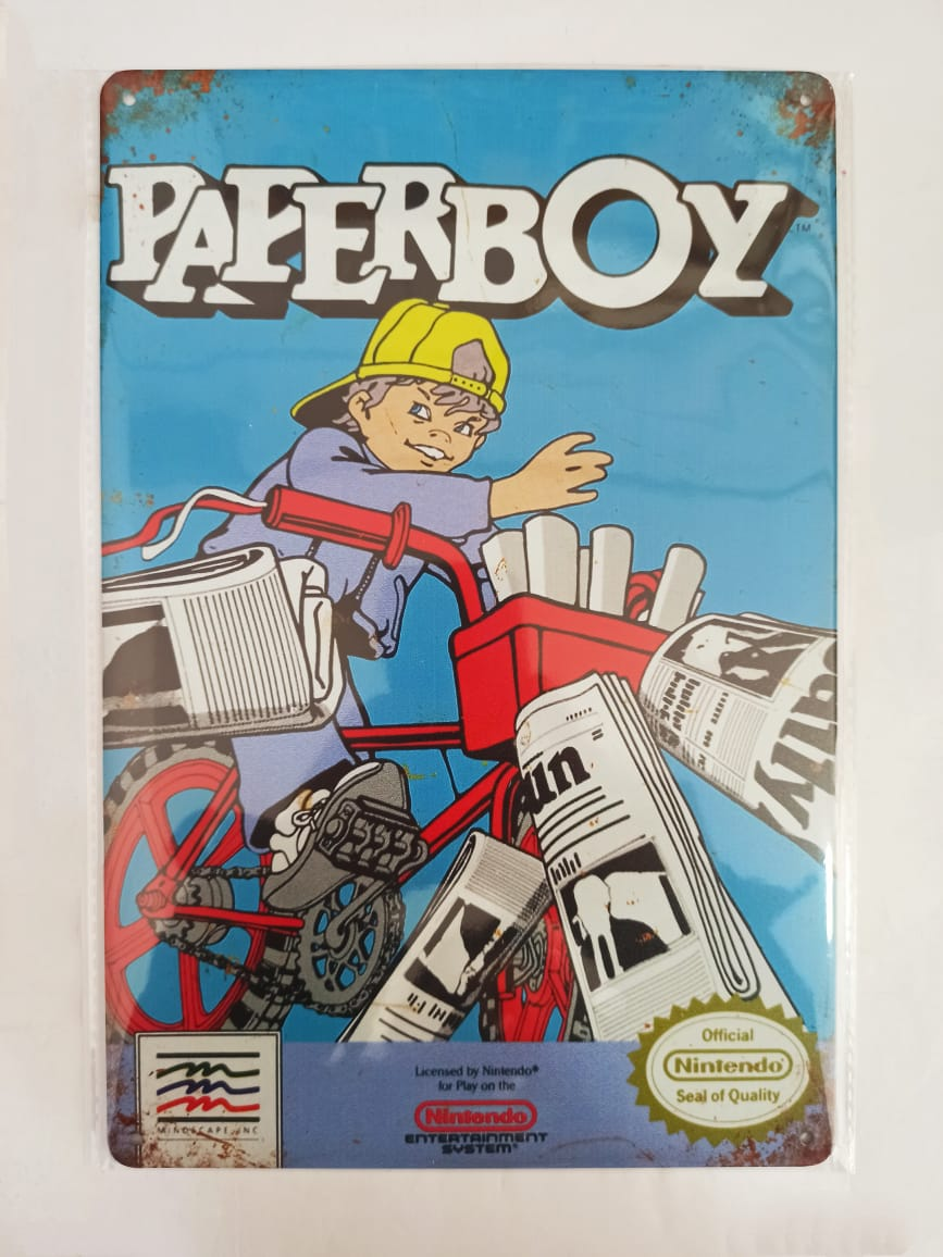 Placa Decorativa - Paperboy