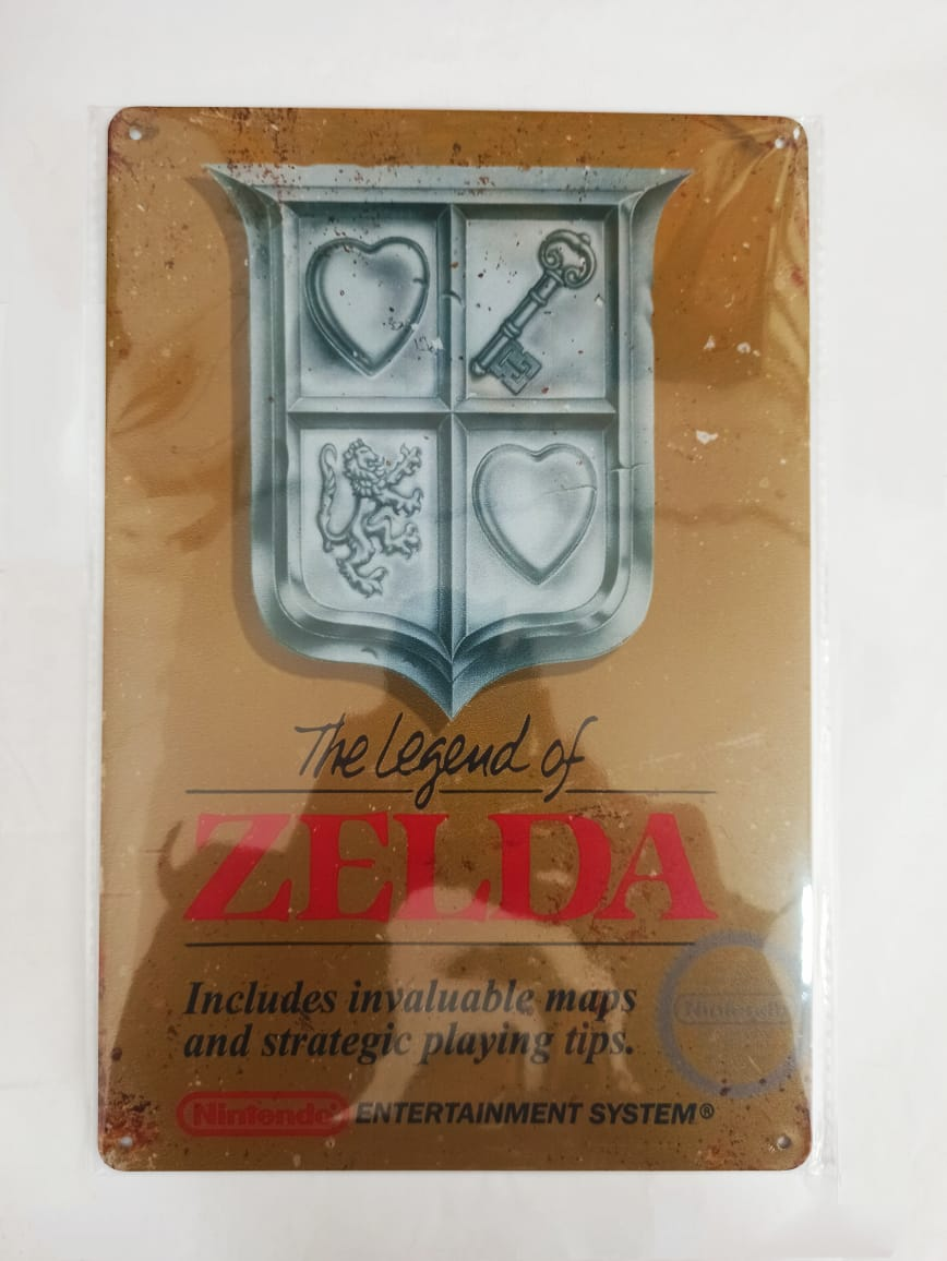 Placa Decorativa - The Legend Of Zelda