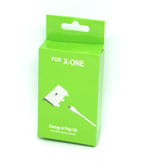 Play And Charge Play Game Branco - Xbox One