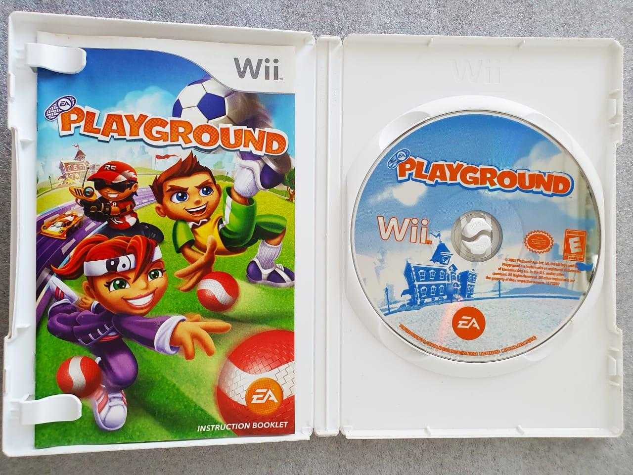 Playground - USADO - Nintendo Wii