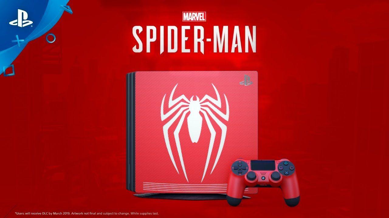 Playstation 4 Pro 1TB 4K Edição Spider Man