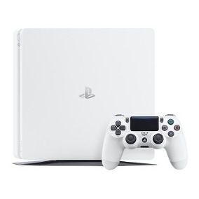 Playstation 4 Slim Branco 500GB