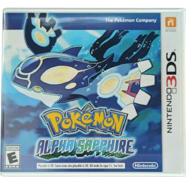 Pokémon Alpha Sapphire - Nintendo 3DS - Usado