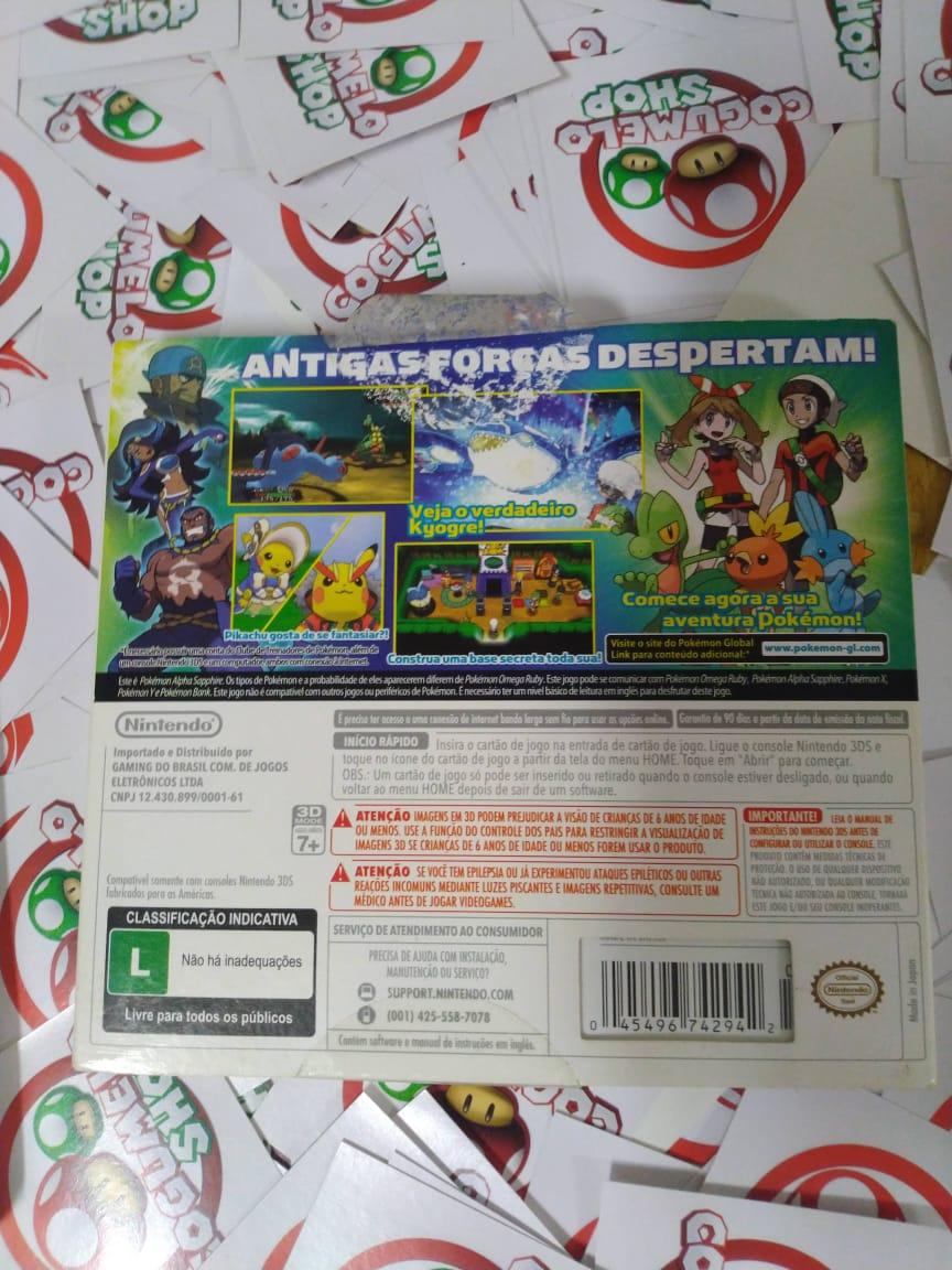 Pokémon Alpha Sapphire - Nintendo 3DS - Usado - USADO - Nintendo 3DS