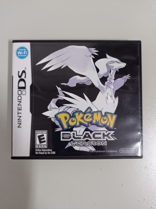Pokémon Black Version - USADO - Nintendo DS