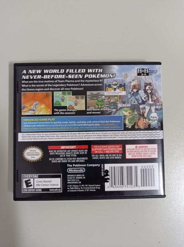 Pokémon Black Version - USADO - Nintendo DS