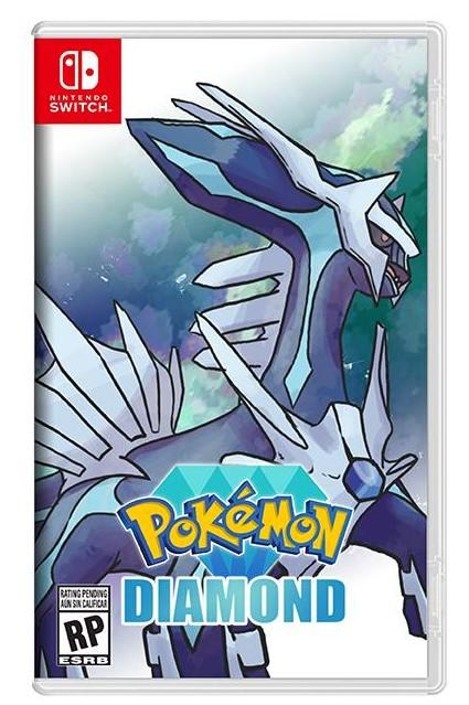 Pokémon: Brilliant Diamond - Nintendo Switch - Pré Venda - LISTA DE ESPERA