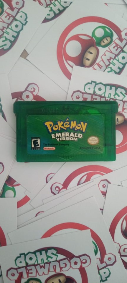 Pokemon Esmerald - USADO - Game Boy Advanced