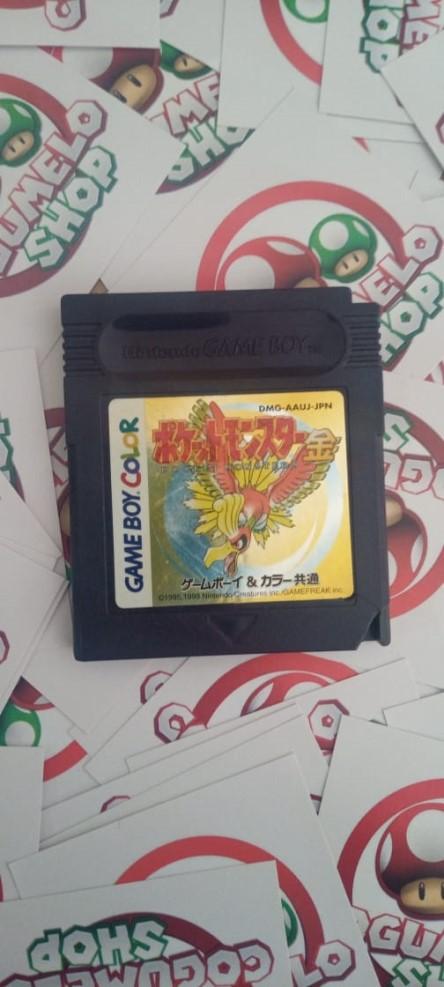 Pokémon Gold - USADO - Nintendo Game Boy Color