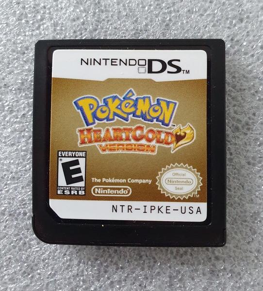 Pokémon HeartGold - Cartucho - Nintendo DS - Usado