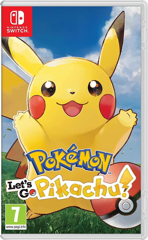 Pokémon: Let's Go, Pikachu! - Nintendo Switch - Envio Internacional