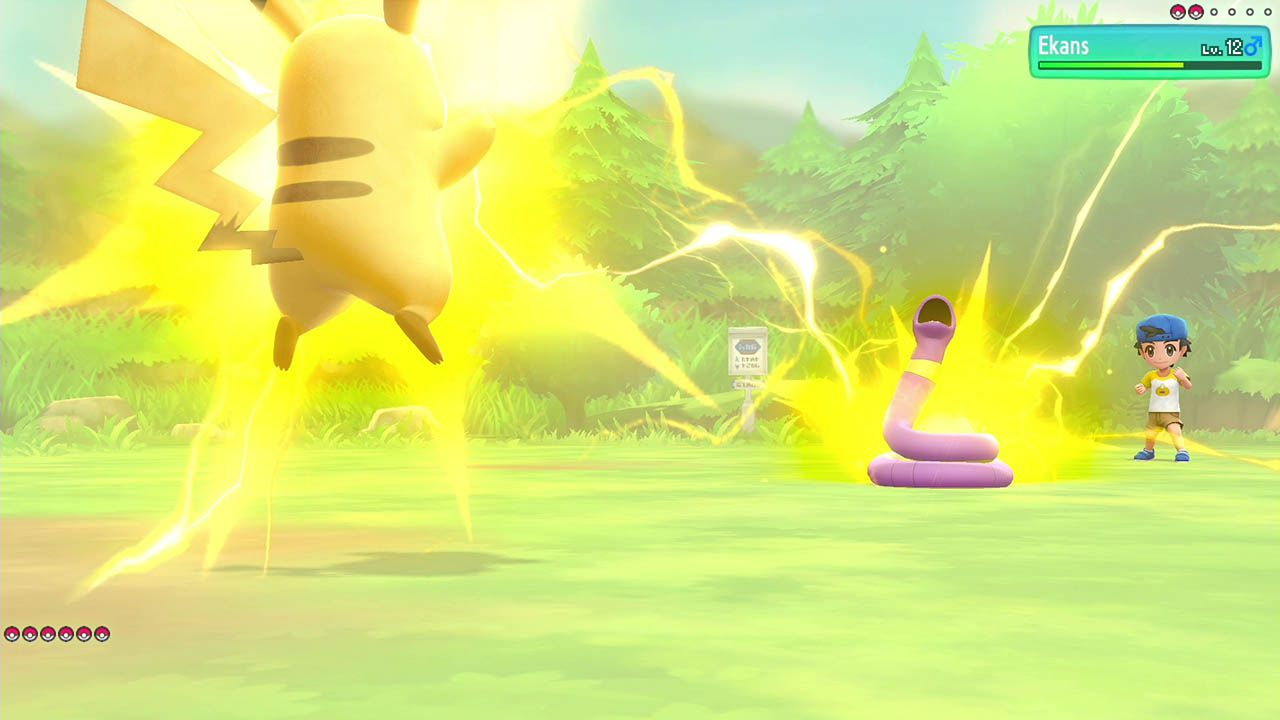 Pokémon: Let's Go, Pikachu! - Switch - USADO