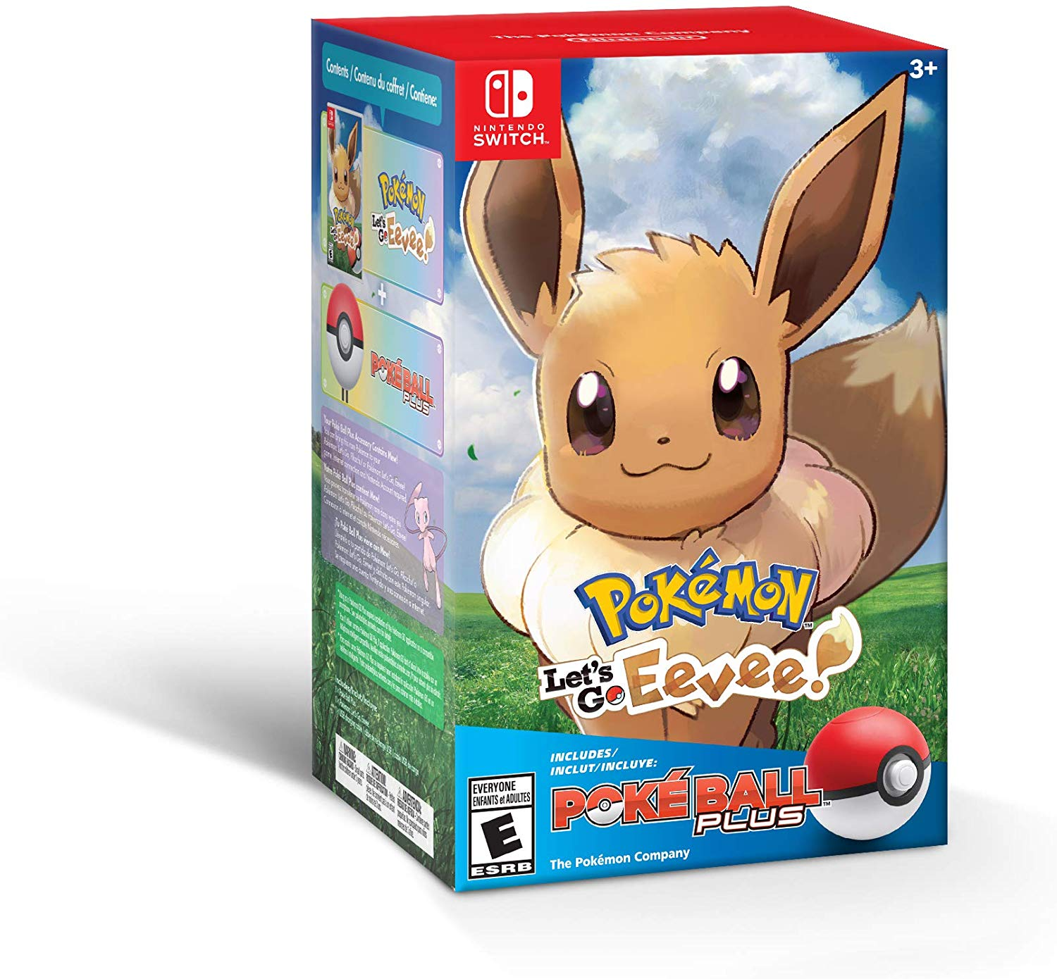 Pokémon: Lets Go, Eevee! + Poké Ball Plus Pack