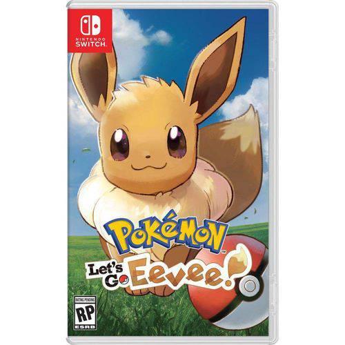 Pokémon Let´s Go Eevee Usado - Nintendo Switch   - Cogumelo Shop