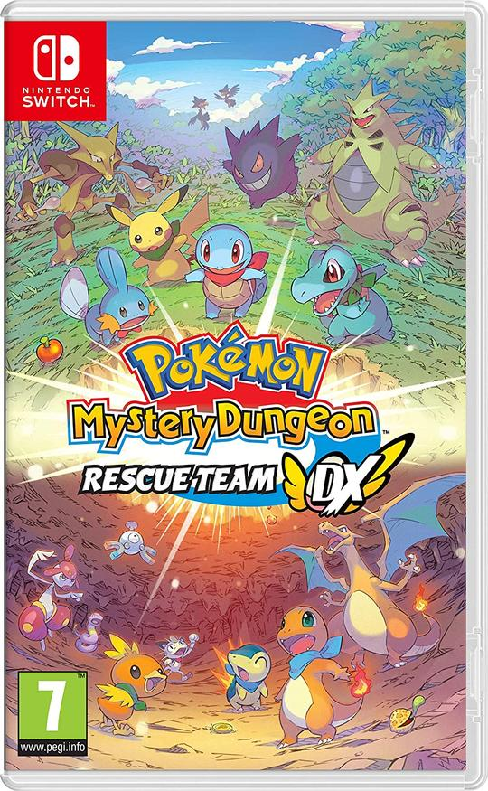 Pokémon Mystery Dungeon: Rescue Team DX - Nintendo Switch - Envio Internacional