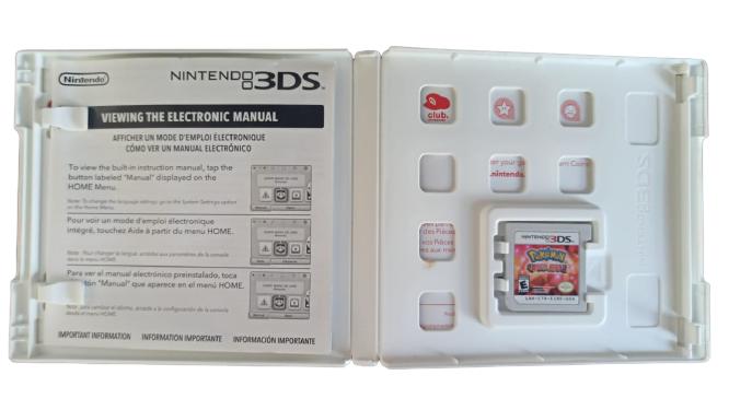 Pokémon Omega Ruby - USADO - Com Luva - Nintendo 3DS