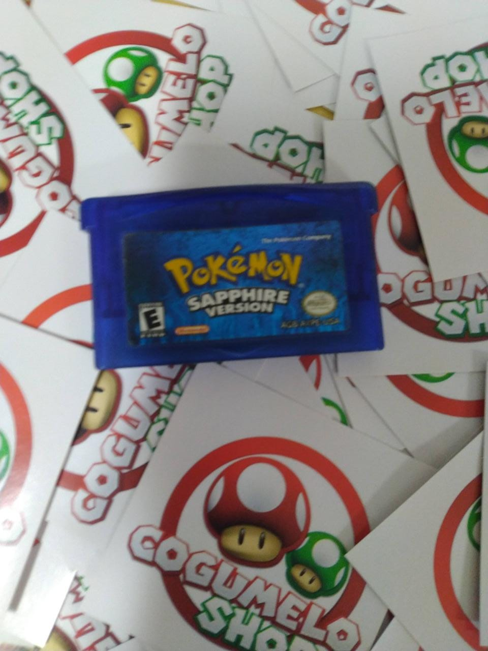 Pokemon Sapphire Version - USADO - Game Boy Advanced