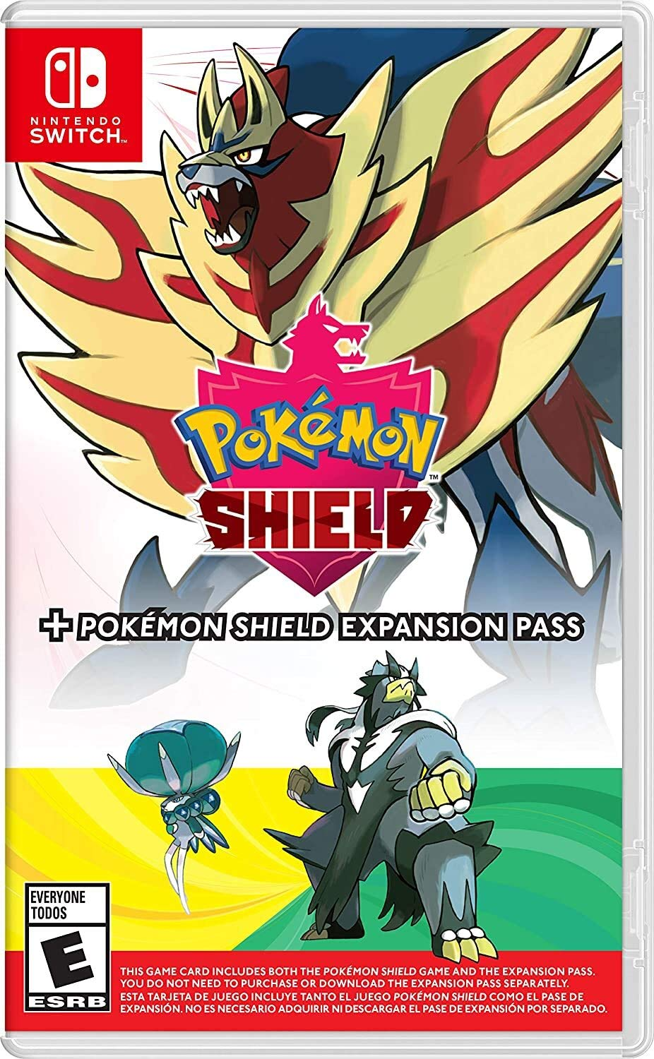 Pokémon Shield + Pokémon Shield Expansion Pass - Nintendo Switch