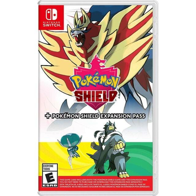 Pokémon Shield + Pokémon Shield Expansion Pass - Pré-venda - Nintendo Switch