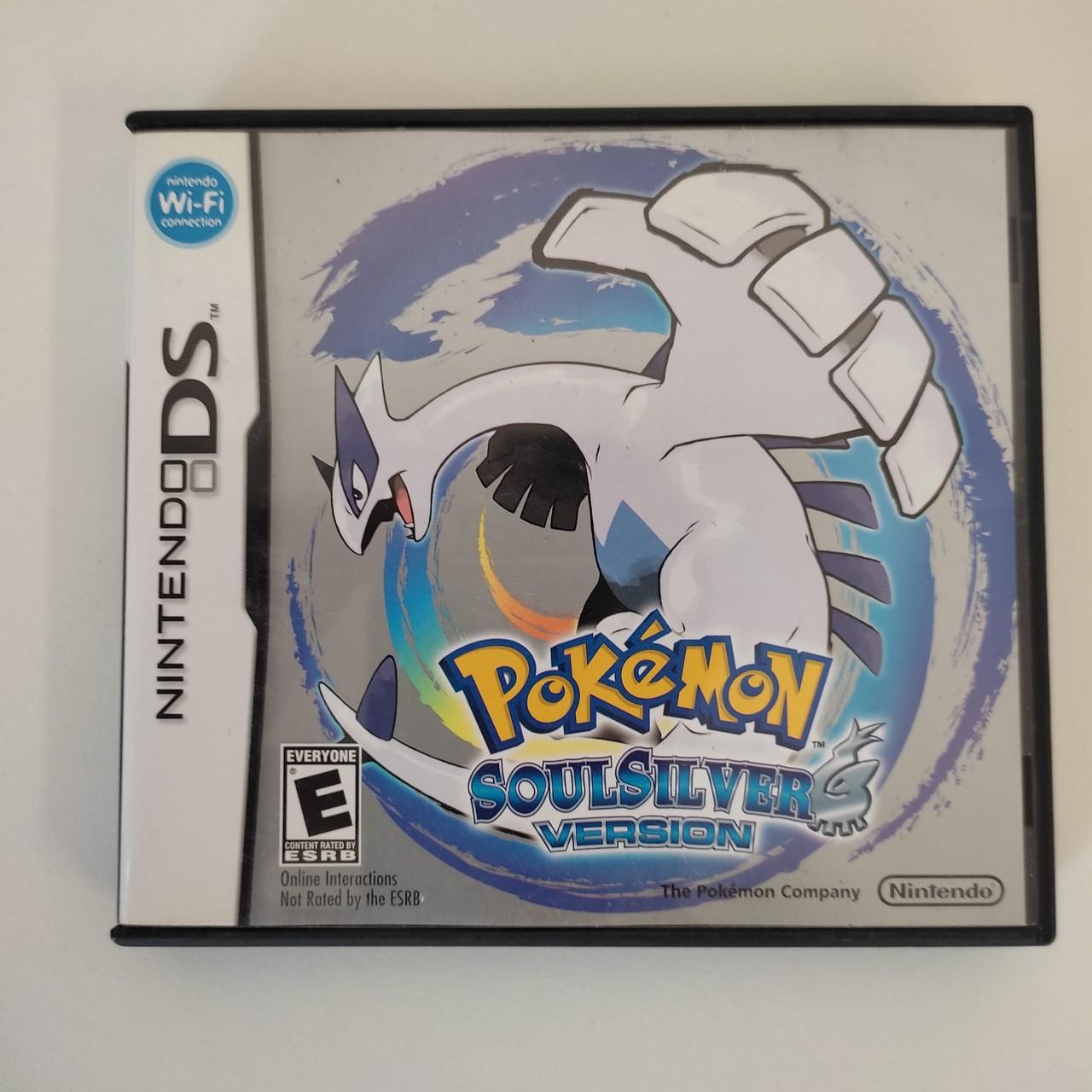 Pokemon SoulSilver Version - Nintendo DS - Usado
