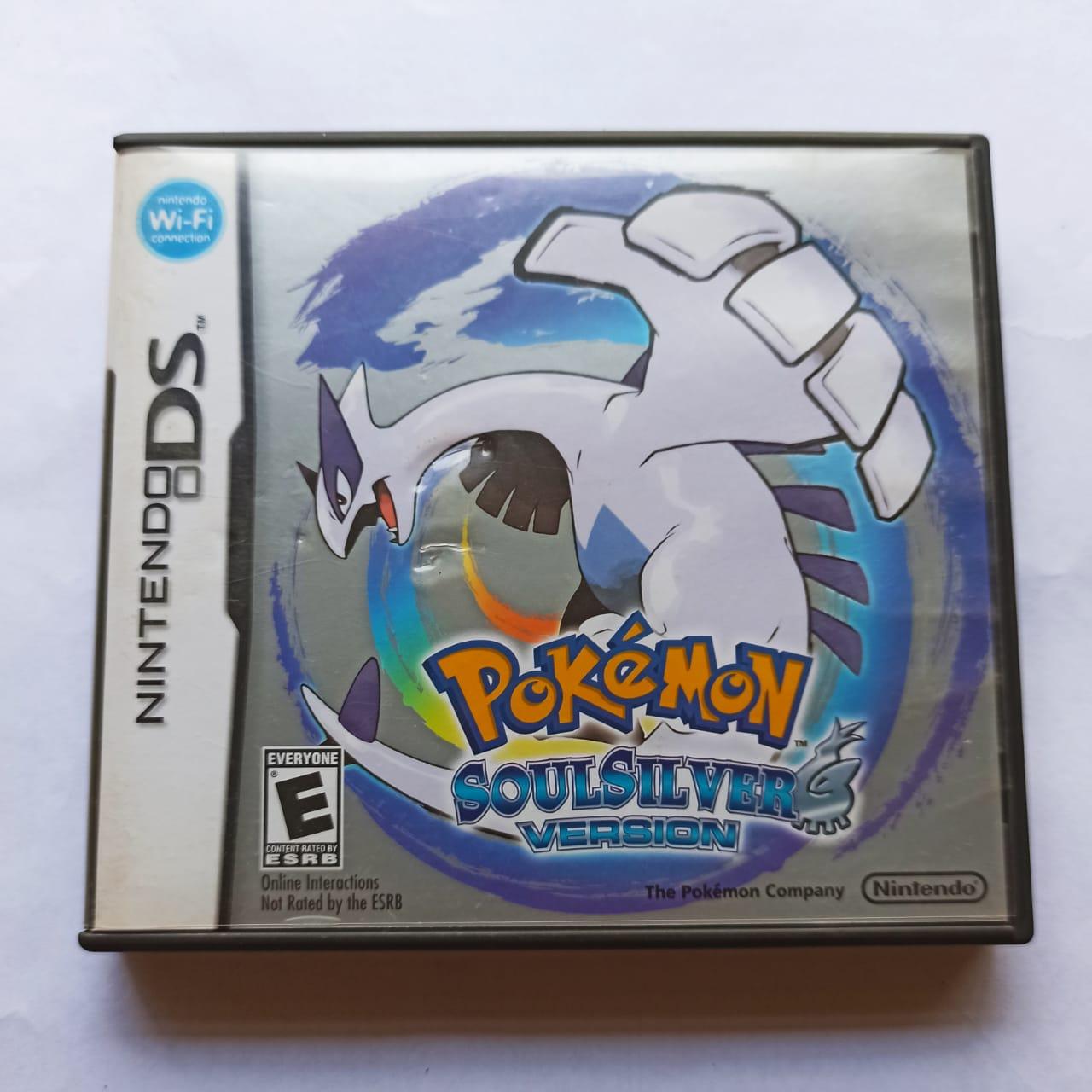 Pokémon SoulSilver Version - USADO - Nintendo DS