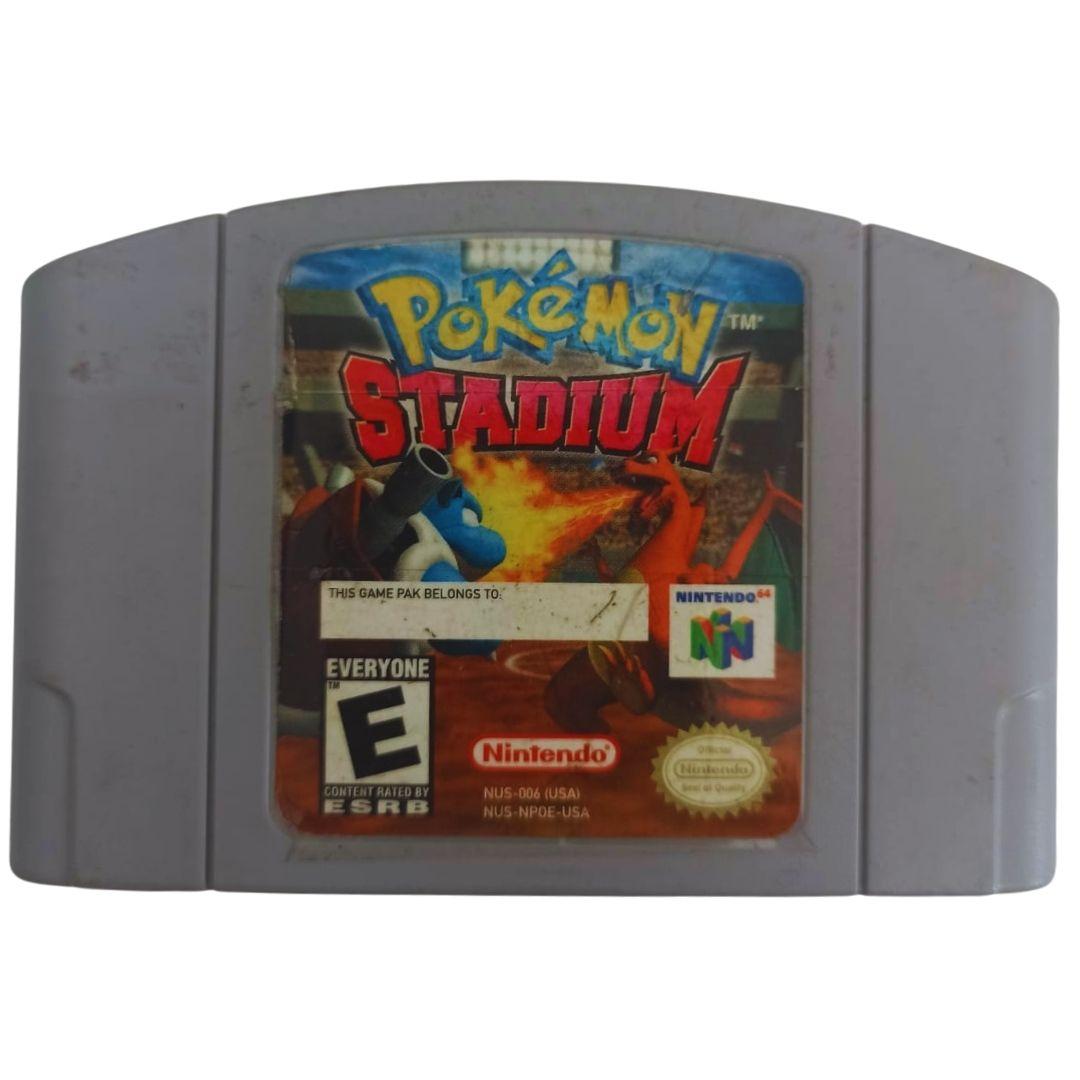Pokémon Stadium - Nintendo 64 - Usado