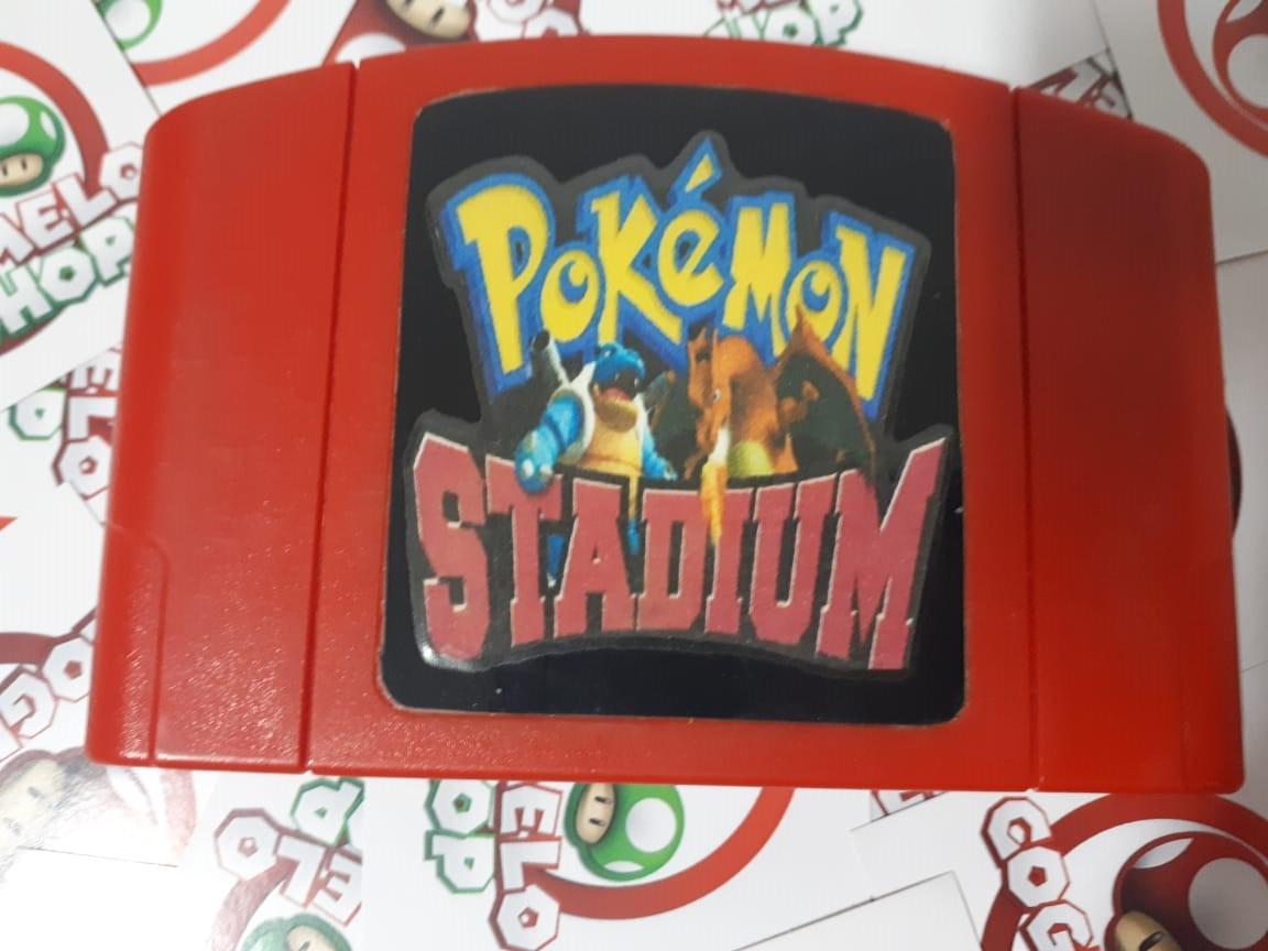 Pokémon Stadium - USADO - Nintendo 64