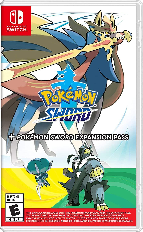Pokémon Sword + Pokémon Sword Expansion Pass - Pré-venda - Nintendo Switch