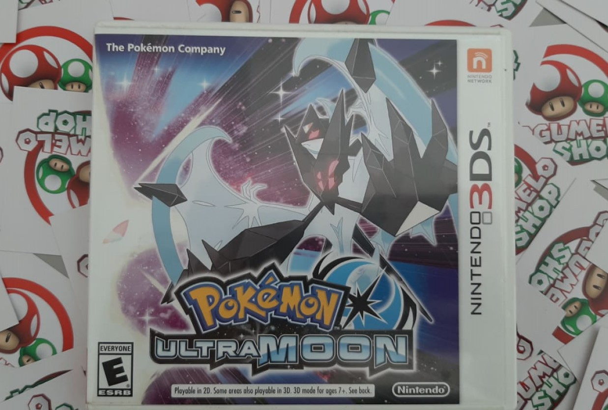 Pokémon Ultra Moon - USADO - Nintendo 3DS