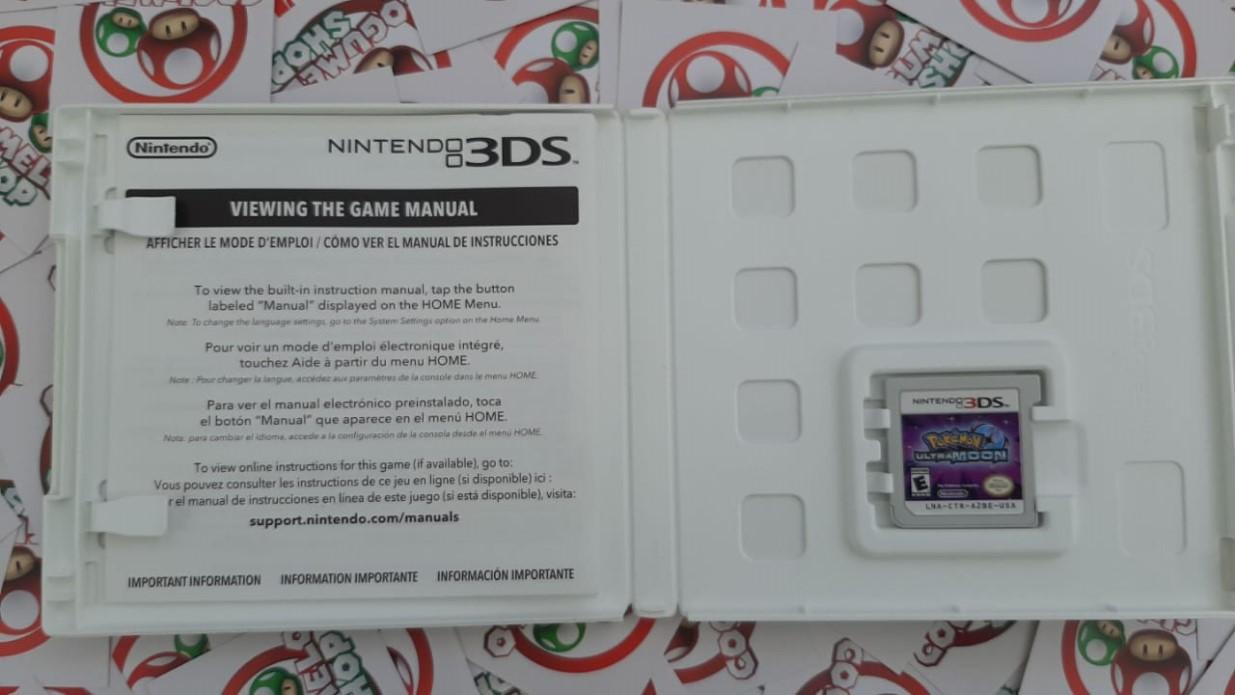 Pokémon Ultra Moon - USADO - Nintendo 3DS