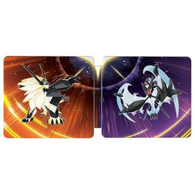 Pokemon Ultra Sun & Ultra Moon Steelbook