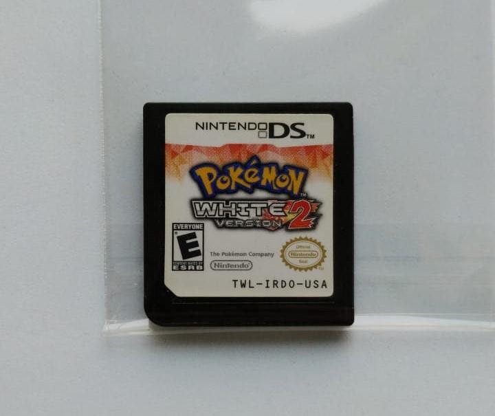 Pokémon White Version 2 - Cartucho - Nintendo DS - Usado