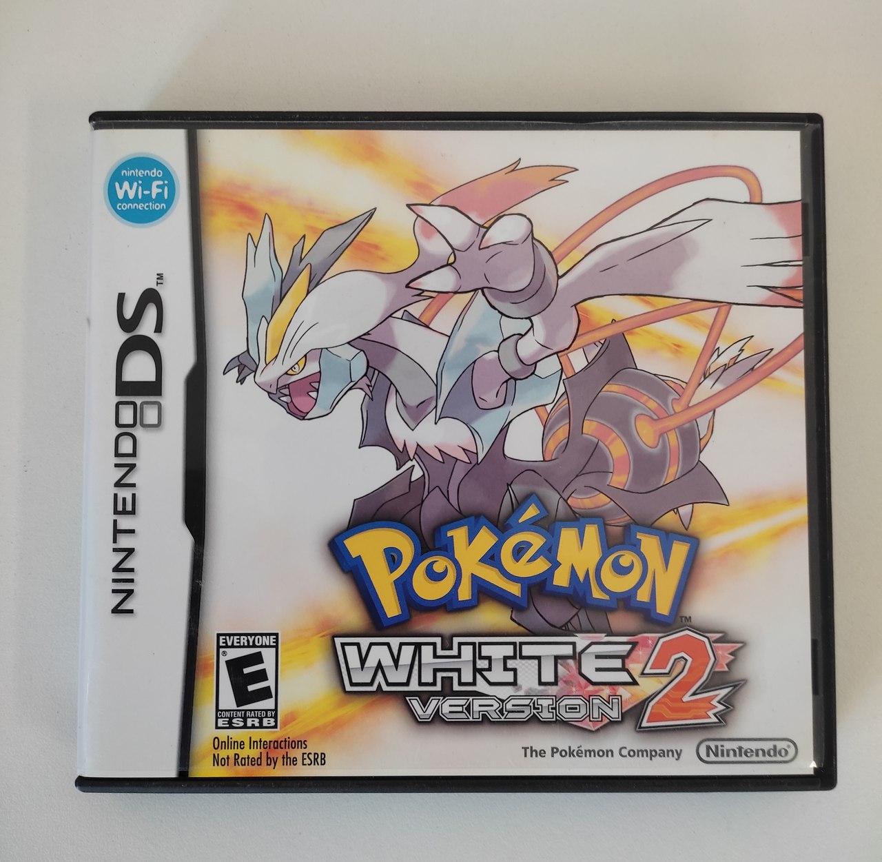 Pokémon White Version 2 - Nintendo DS - Usado