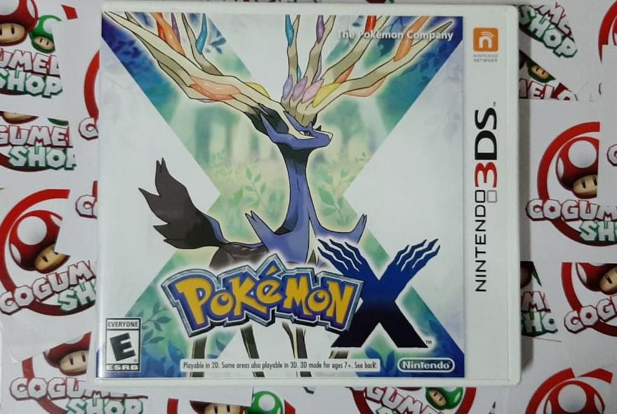 Pokémon X - Nintendo 3DS - USADO - Frete Grátis