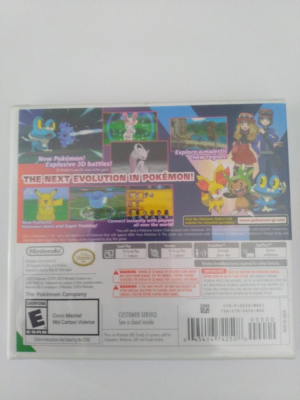 Pokemon Y - Nintendo 3DS - Lacrado