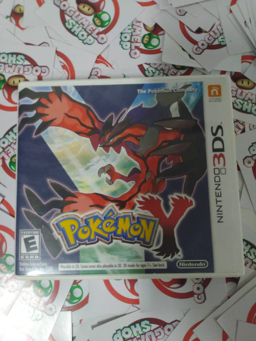 Pokemon Y - Usado - Nintendo 3DS