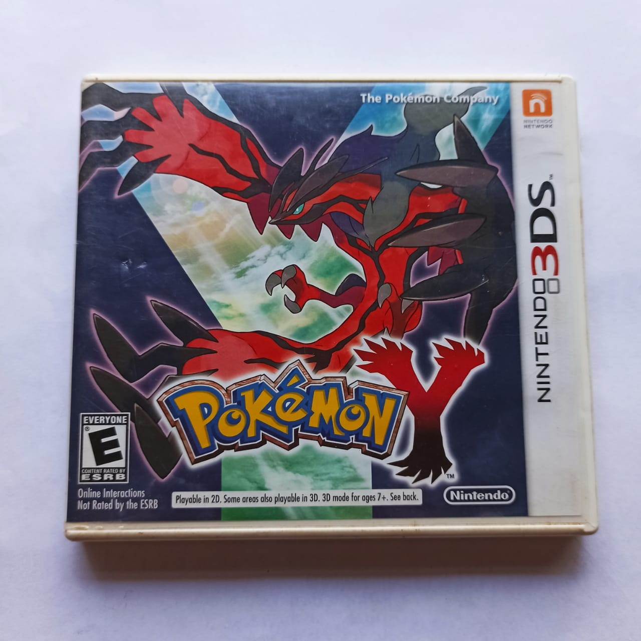 Pokemon Y - USADO - Nintendo 3DS
