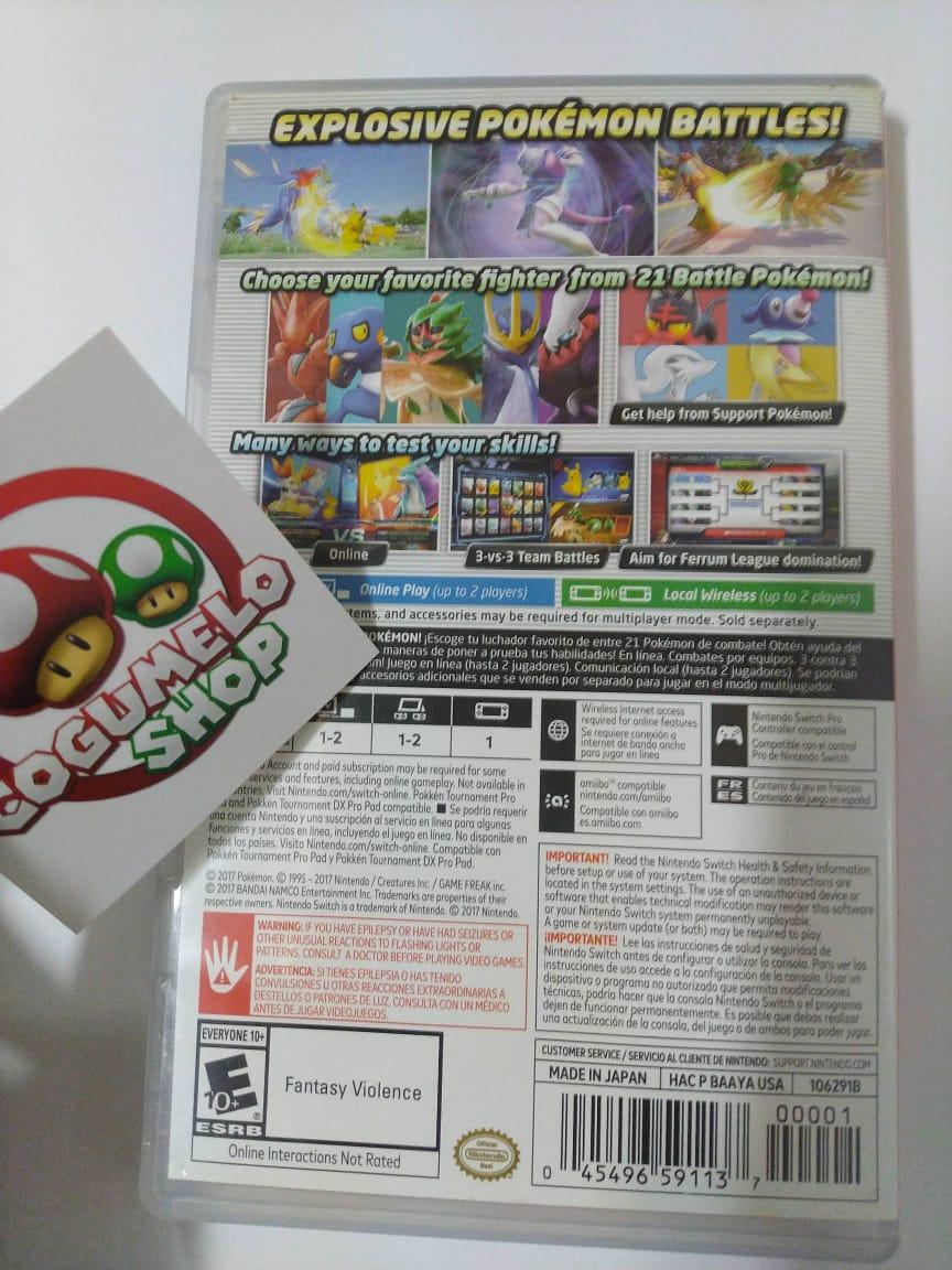 Pokkémon Tournament DX - Nintendo Switch - USADO