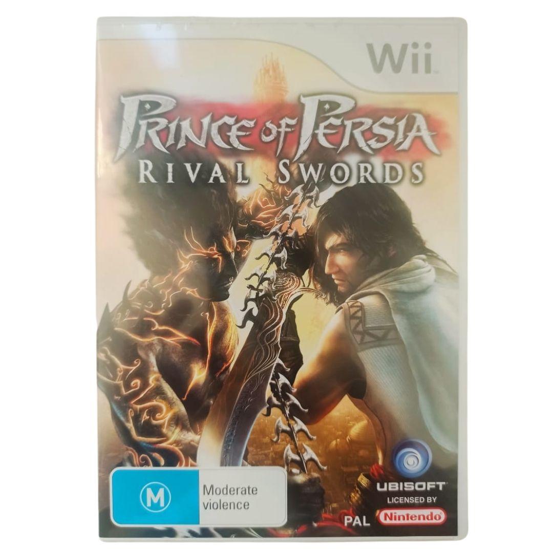 Prince of Persia: Rival Swords - Versão PAL - Nintendo Wii - Usado