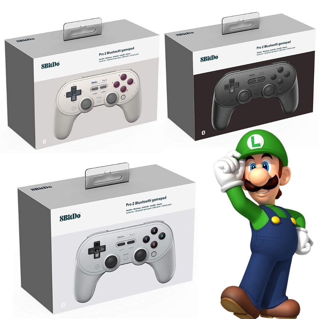 Pro 2 - 8BitDo - Nintendo Switch - Envio Internacional - Pré Venda