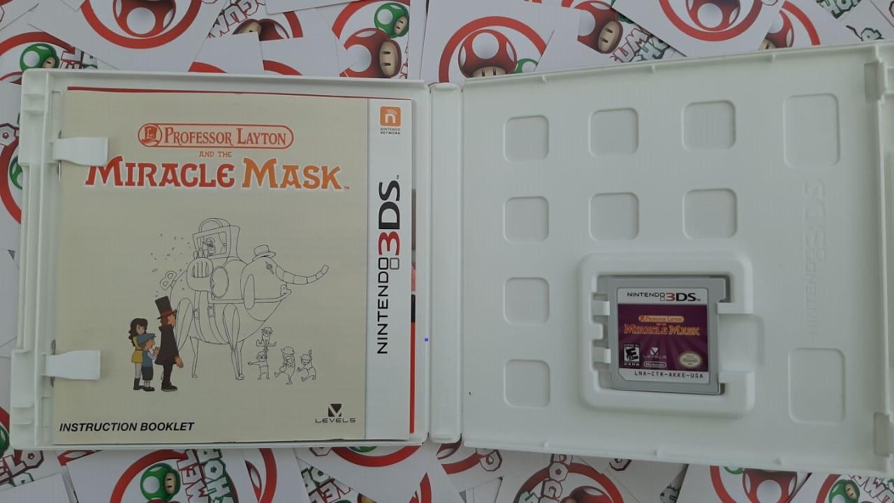 Professor Layton and the Miracle Mask - USADO - Nintendo 3DS