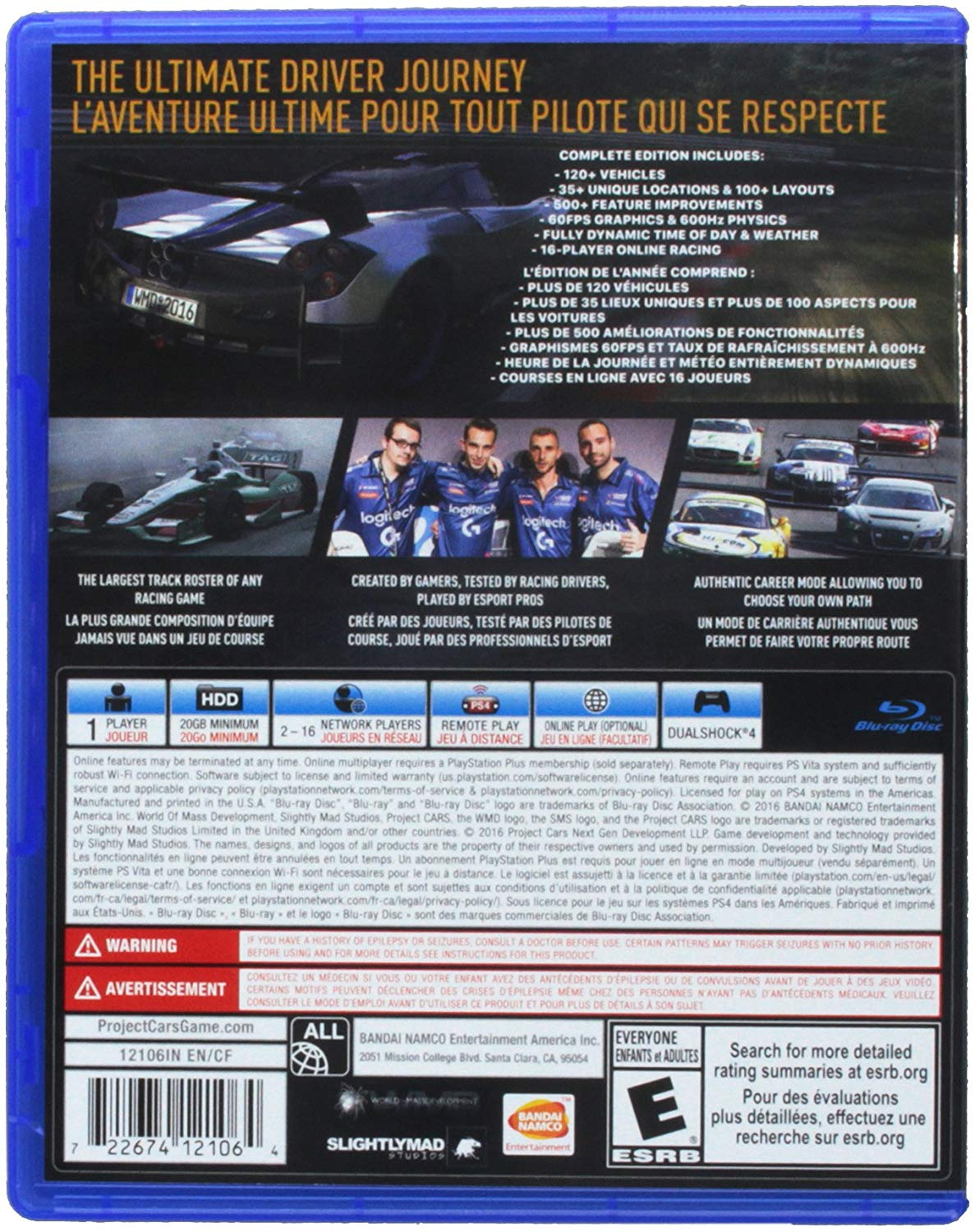 Project Cars - Complete Edition - Ps4