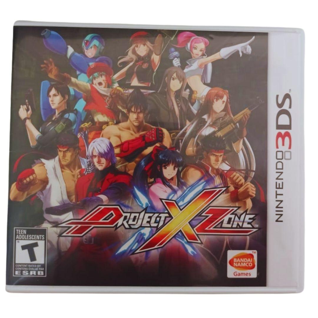 Project X Zone - Nintendo 3DS - Usado