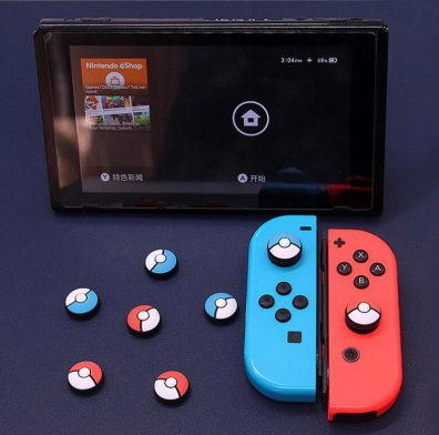 Protetor Analógico Kawaii - Nintendo Switch - Envio Internacional