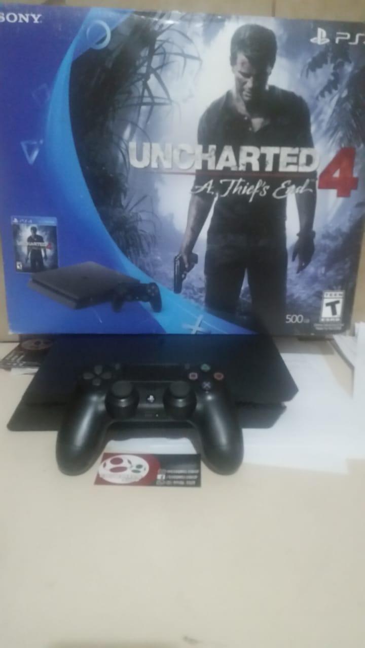 PS4 Slim 500 Gb + Jogo Usado