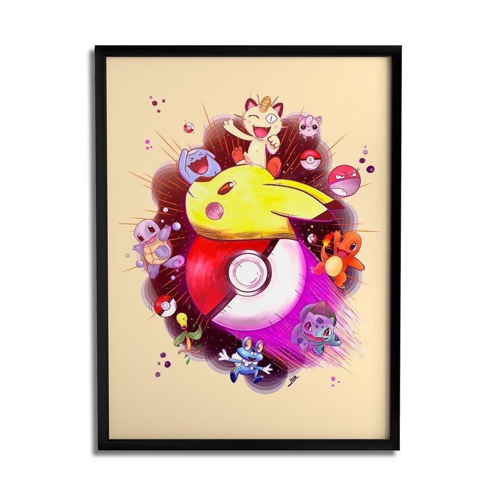 Quadro Decorativo - Pokemon - Lua Lins