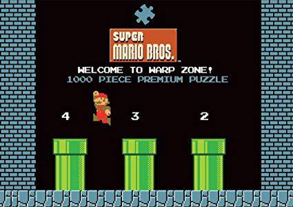 Quebra-Cabeças Super Mario 1-2 Warp Level (1000 Peças)