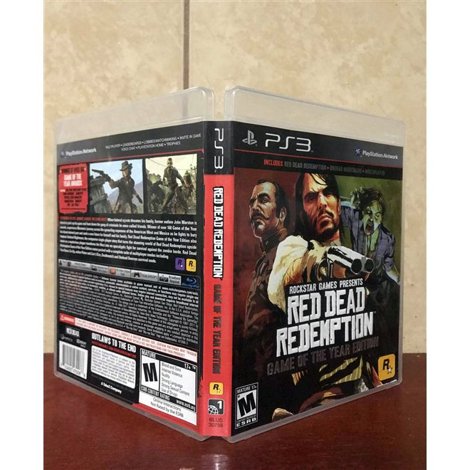 Red Dead Redemption GOTY - PS3 - USADO